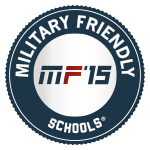 Seal for Military Friendly Schools of 2015
