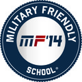 Seal for Military Friendly Schools of 2014