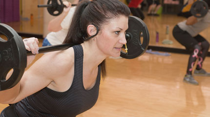 Amy, ICC Fitness Center Instructor