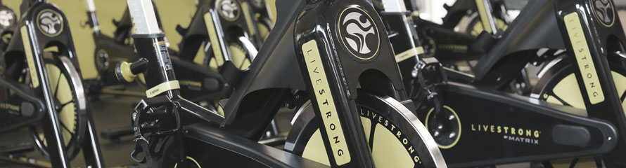ICC Fitness Center stationary bikes