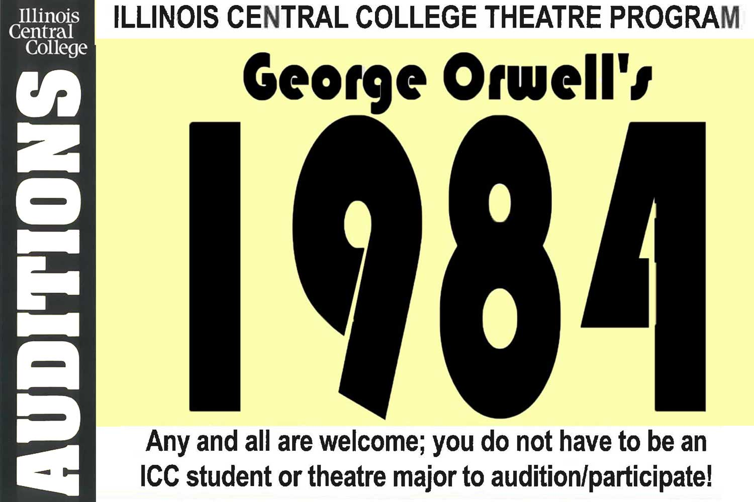 Auditions for George Orwell's
