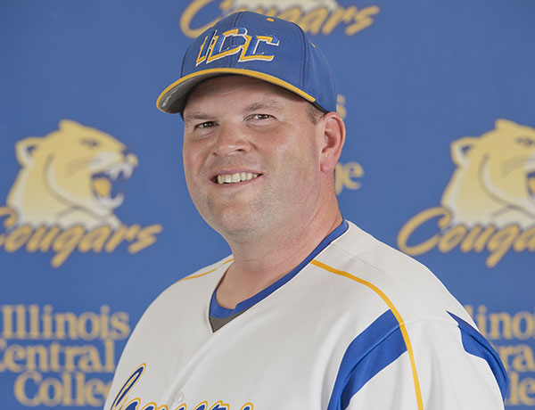 2016-2017 Baseball Coach Headshot of Brett Kelley