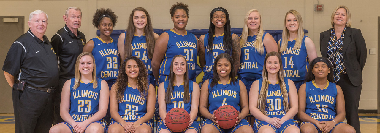 2017-2018 Women's Basketball Team Picture