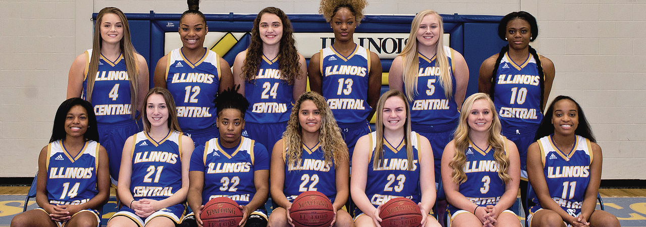 2018-2019 Women's Basketball Team Picture