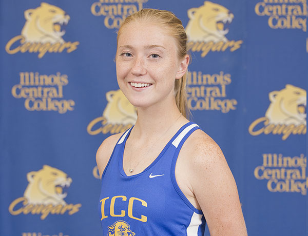 2016-2017 Cross Country Headshot of Hannelore Book