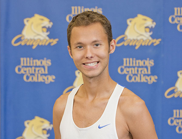 2016-2017 Cross Country Headshot of Colin Siedleck