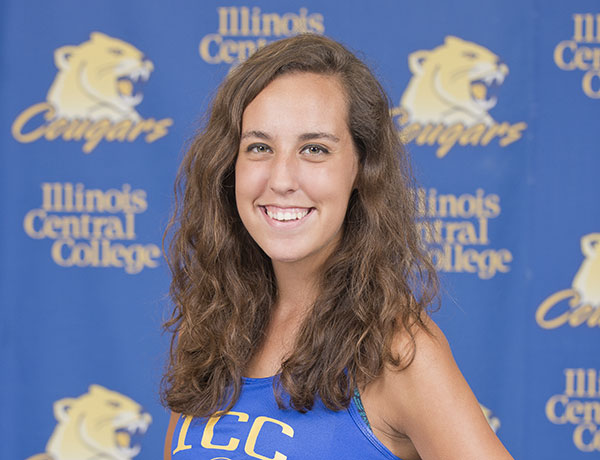 2016-2017 Cross Country Headshot of Dayna Traver
