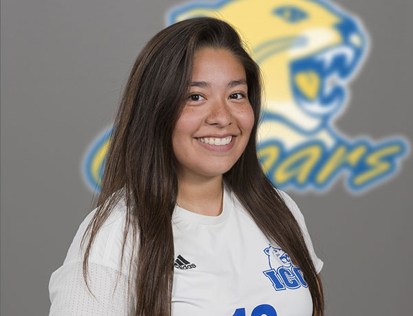 2017-2018 Women's Soccer Headshot of Ashley Ortiz