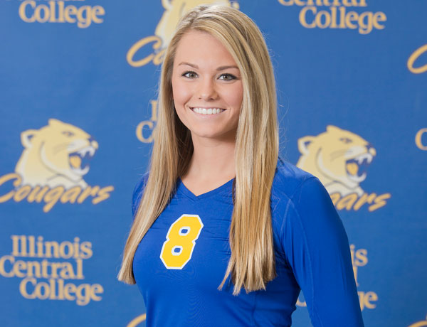 2016-2017 Volleyball Headshot of Paige Pasley
