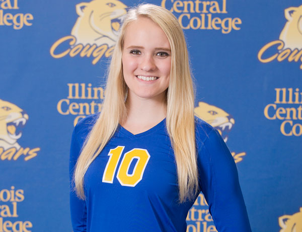2016-2017 Volleyball Headshot of Claire Milnes