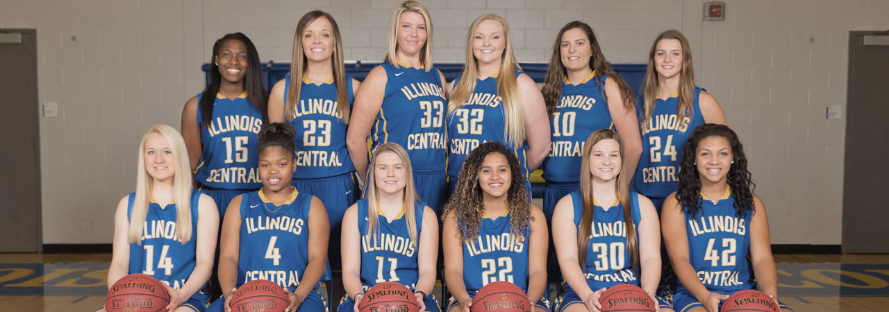 2016-2017 Women's Basketball Team Picture