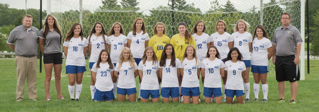 2016-2017 Women's Soccer Team Picture