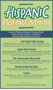 Hispanic Heritage Month 2015
