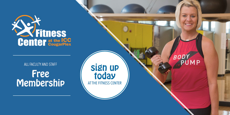 Free Fitness Center Membership for all ICC faculty and staff