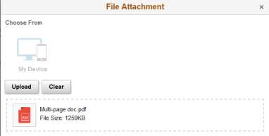 Screenshot of document ready for uploaded